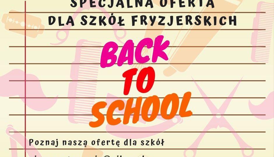 OFERTA DLA SZKÓŁ. BACK TO SCHOOL!